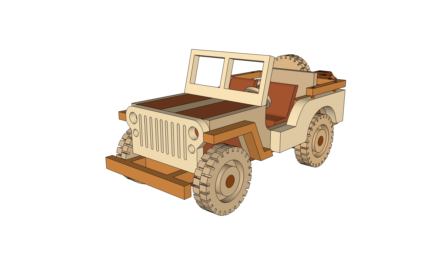 jeep willys - plans